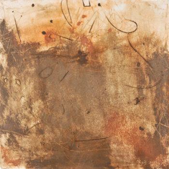 Earth's Cry, Utah, Arizona and Iowa Earth, 48 x 48, 2013